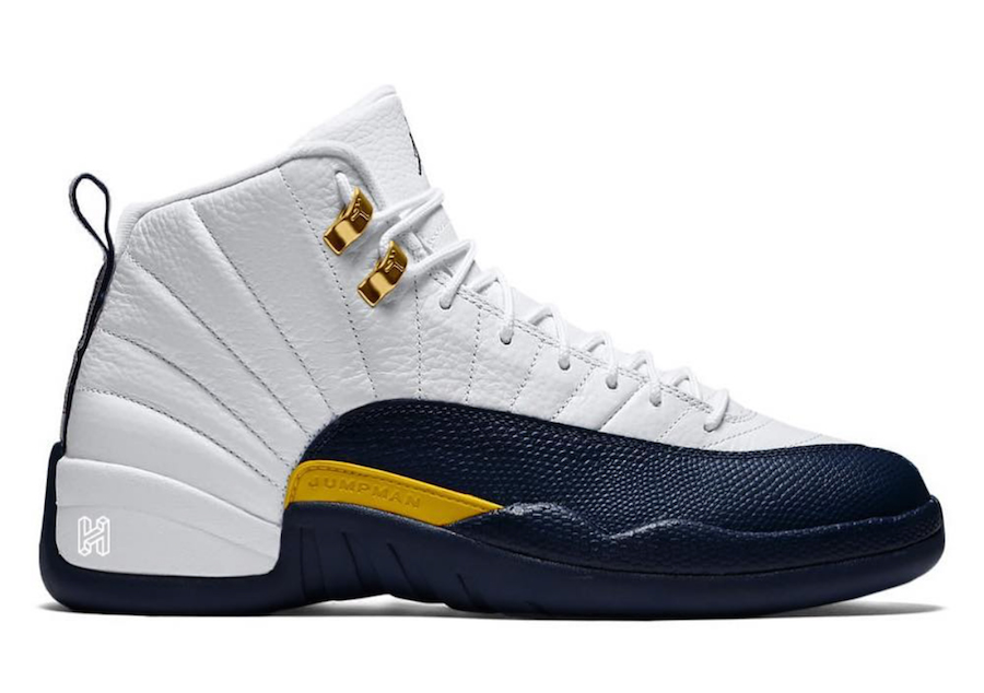 "2019AJ新品来了!Air Jordan 12 ""Michigan Home""配对Air Jordan 4"
