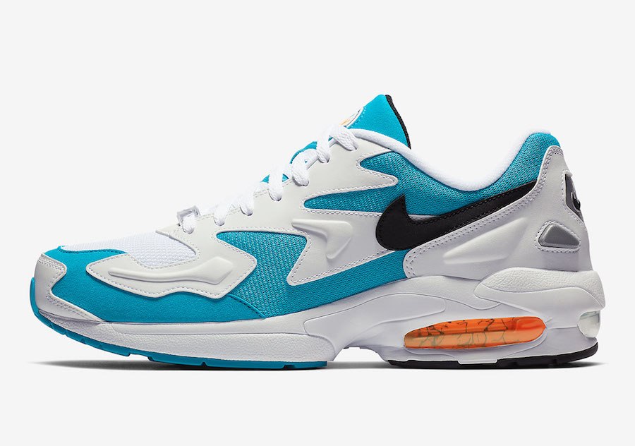 2019年经典回归:Nike Air Max2 Light