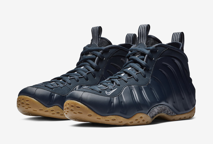 "一月新品:""午夜蓝""Nike Air Foamposite One ""Midnight Navy"" 喷泡运动鞋"