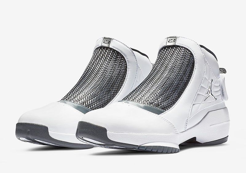 "Air Jordan 19 Melo ""Flint Grey""元年 OG 首次复刻"