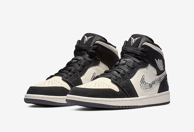 "Air Jordan 1 Mid ""Equality"" 货号:852542-010"