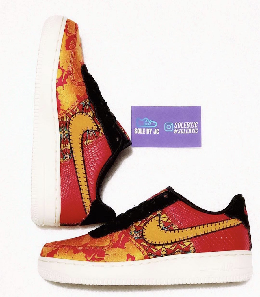 "Nike Air Force 1 Low ""Chinese New Year"" 货号:AV5167-600"