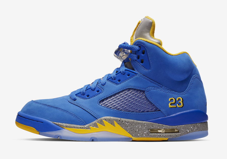 "Air Jordan 5 JSP ""Laney"" 货号:CD2720-400 明日发售!"