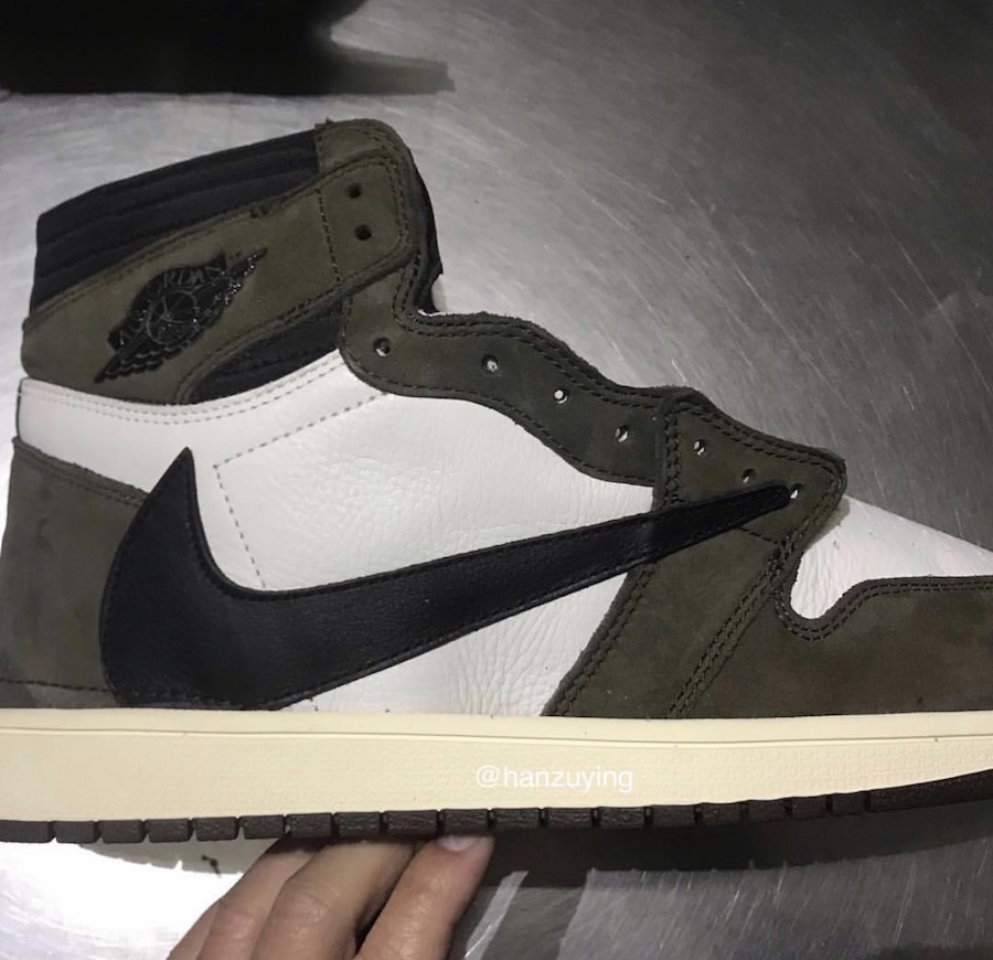 Travis Scott x Air Jordan 1 货号:CD4487-100