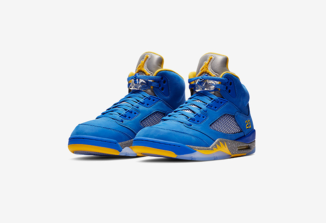 "Air Jordan 5 JSP ""Laney"" 货号:CD2720-400 即将发布"