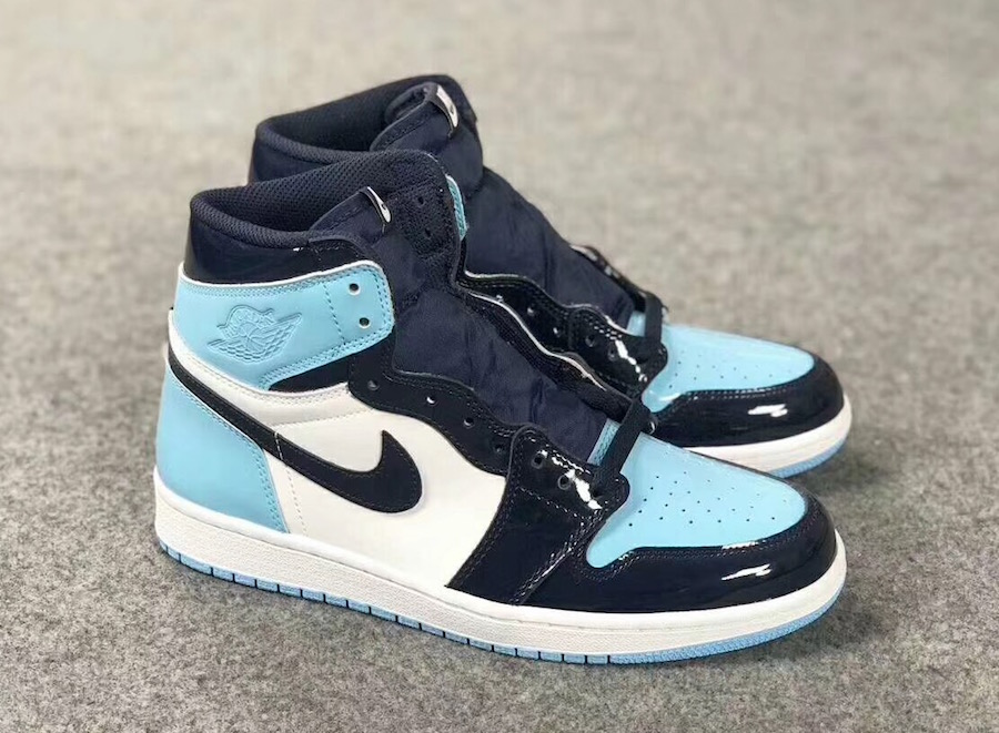 "Air Jordan 1 Retro High OG ""UNC Patent"" 货号:CD0461-401"