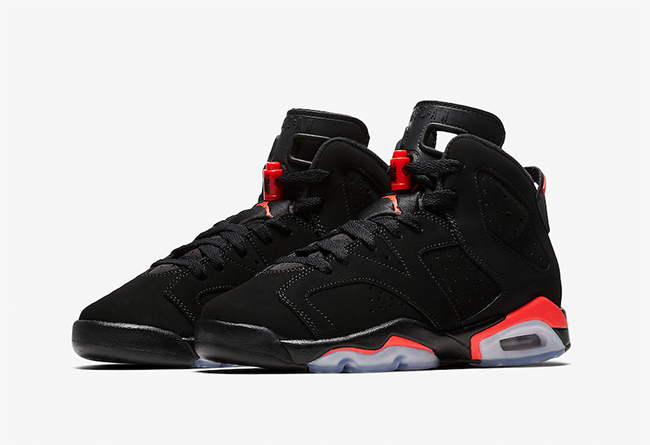 Air Jordan 6  Black Infrared 货号:384664-060