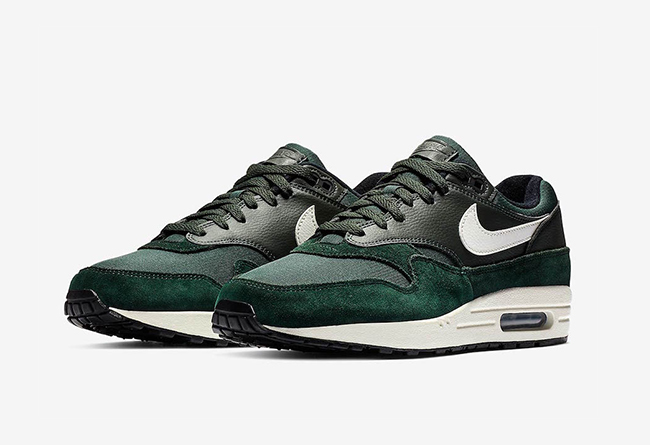 "Nike Air Max 1 ""Outdoor Green""  货号:AH8145-303"