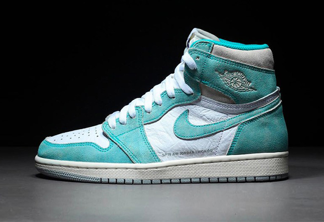 "Air Jordan 1 ""Turbo Green"" 货号:555088-311"
