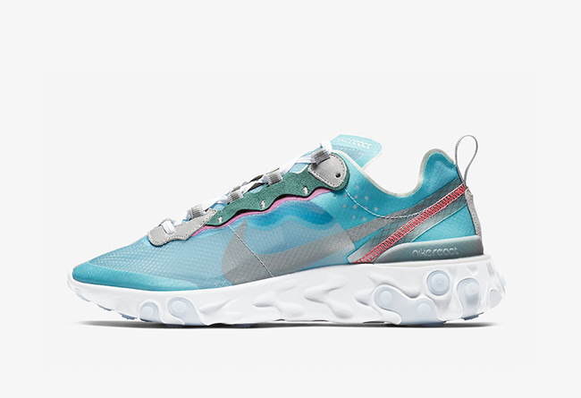 "Nike React Element 87 ""Royal Tint"" 货号:AQ1090-400"