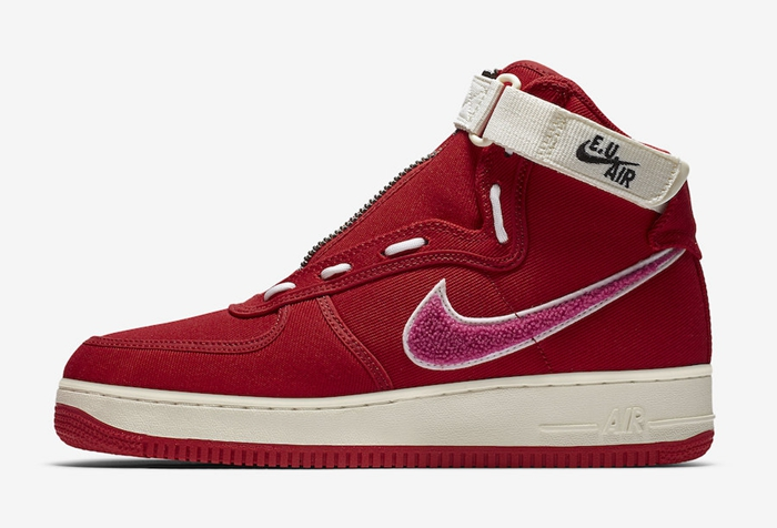 Nike Air Force 1 High 货号:AV5840-600