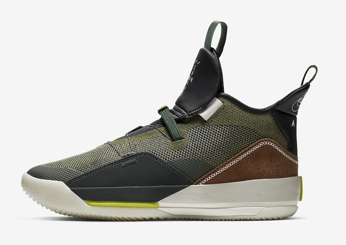 Travis Scott x Air Jordan 33 NRG 货号:CD5965-300