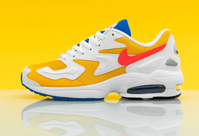 Nike Air Max2 Light 货号:AO1741-700 已发售!