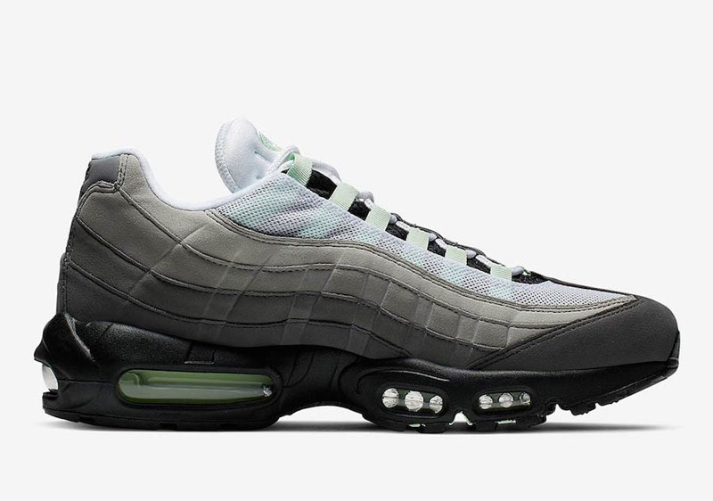 "Nike Air Max 95 ""Fresh Mint"" 货号: CD7495-101 新配色美图迎来曝光!"