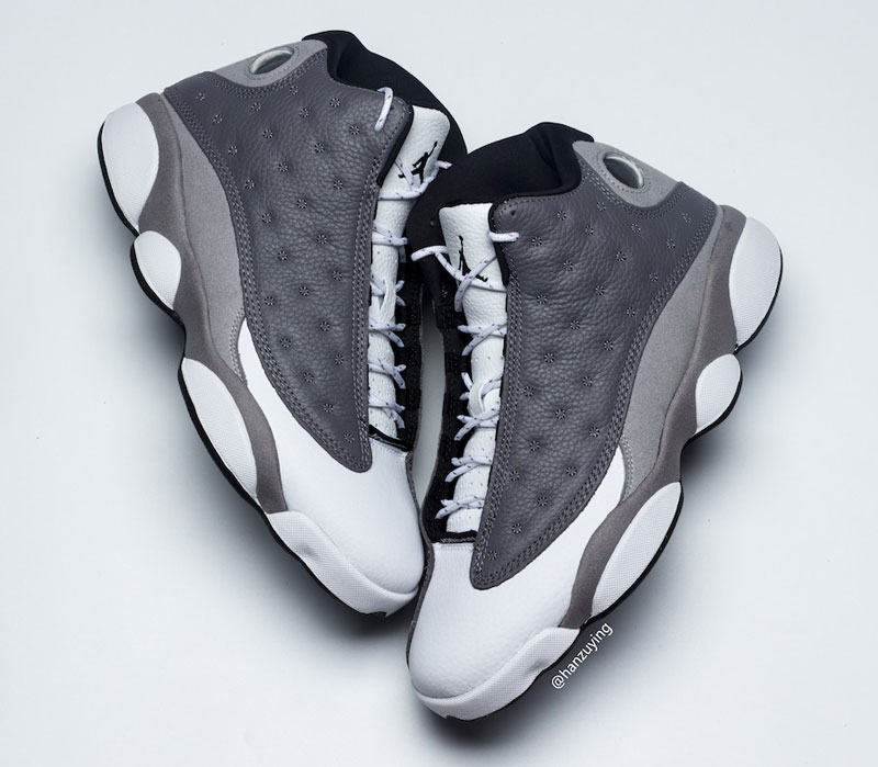 "Air Jordan 13 ""Atmosphere Grey"" 货号:414571-016"