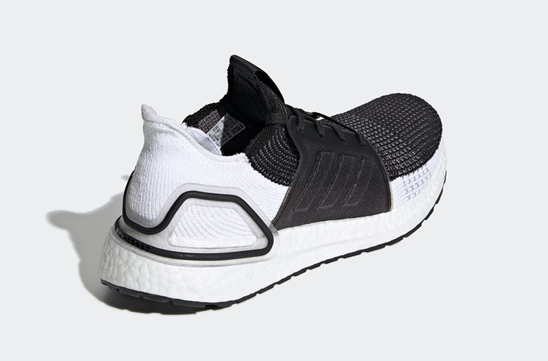 "adidas Ultra Boost 19 ""Black/White"" 货号:B37704"