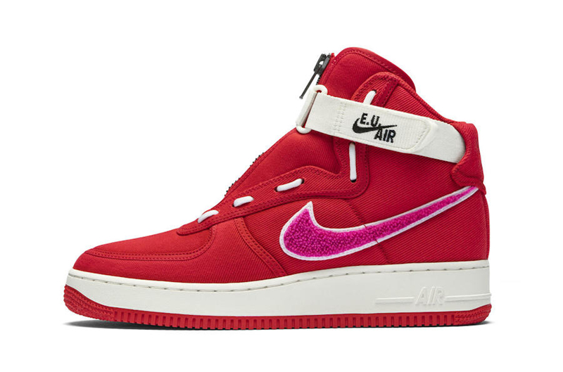 Emotionally Unavailable x Nike Air Force 1 High 货号:AV5840-600