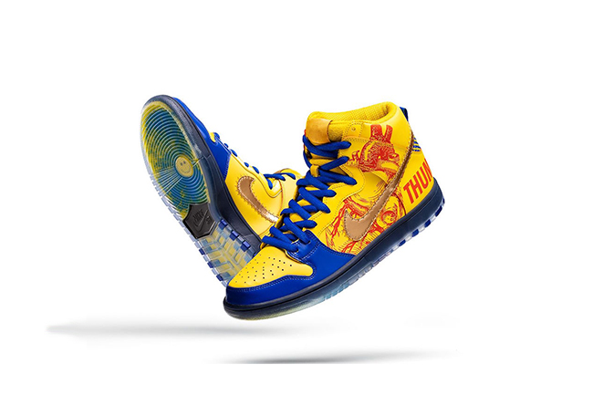 "Nike SB Dunk High ""Doernbecher"" 货号:579603-740"