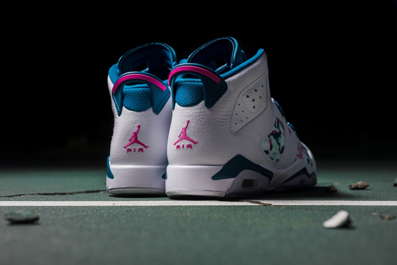 Air Jordan 6 Retro GS 'Green Abyss' 货号:543390-153