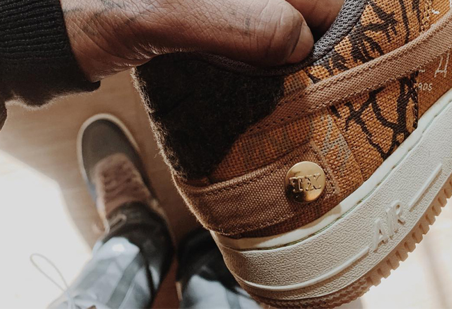 "Air Force 1 ""Cactus Jack"" 实图欣赏!"