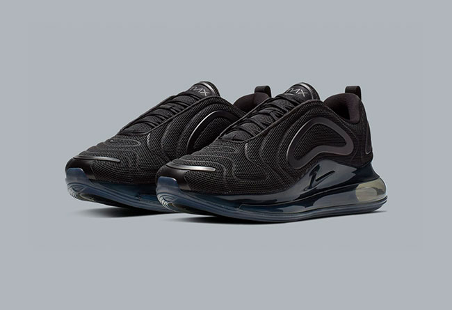"Nike Air Max 720""Triple Black""  货号: AO2924-007"
