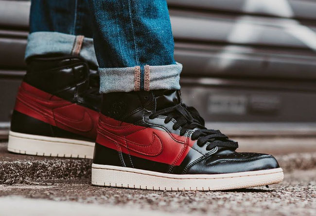 "Air Jordan 1 Defiant ""Couture"" 上脚图欣赏 货号:BQ6682-006"