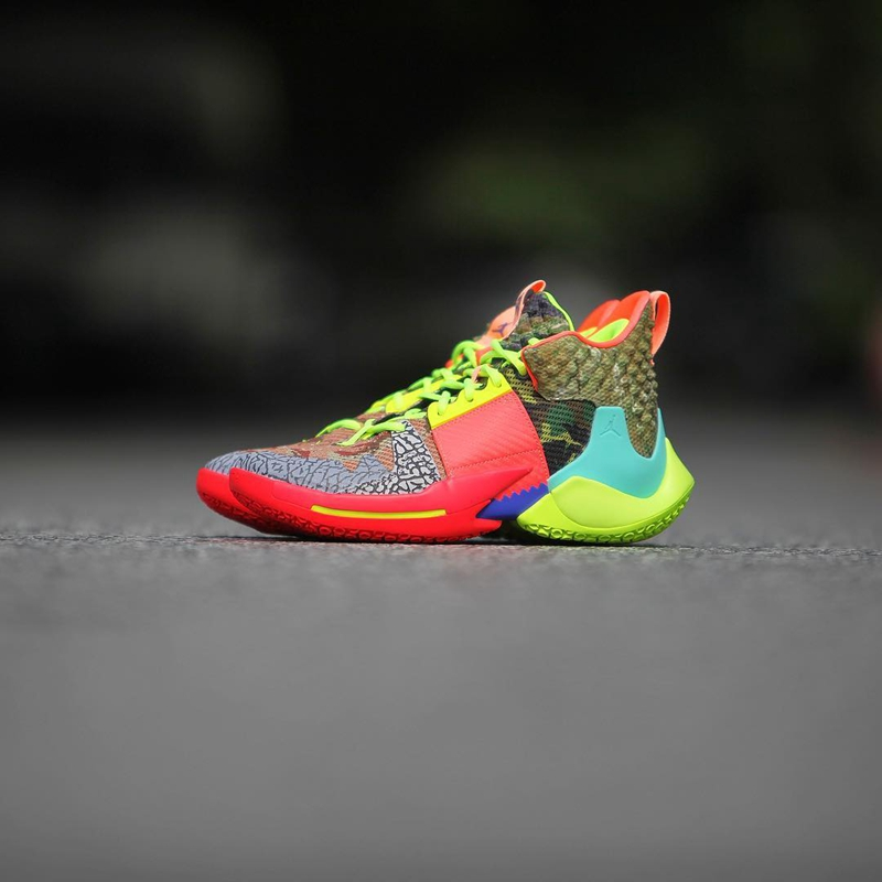 "Jordan Why Not Zer0.2 ""All-Star"" 威少战靴 货号:CI6875-300"