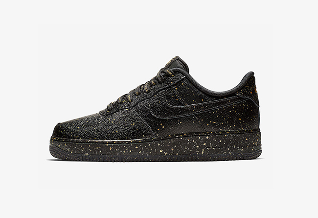 "Nike Air Force 1 ""Only Once""黑金高仿鞋 货号:CJ7786-007"