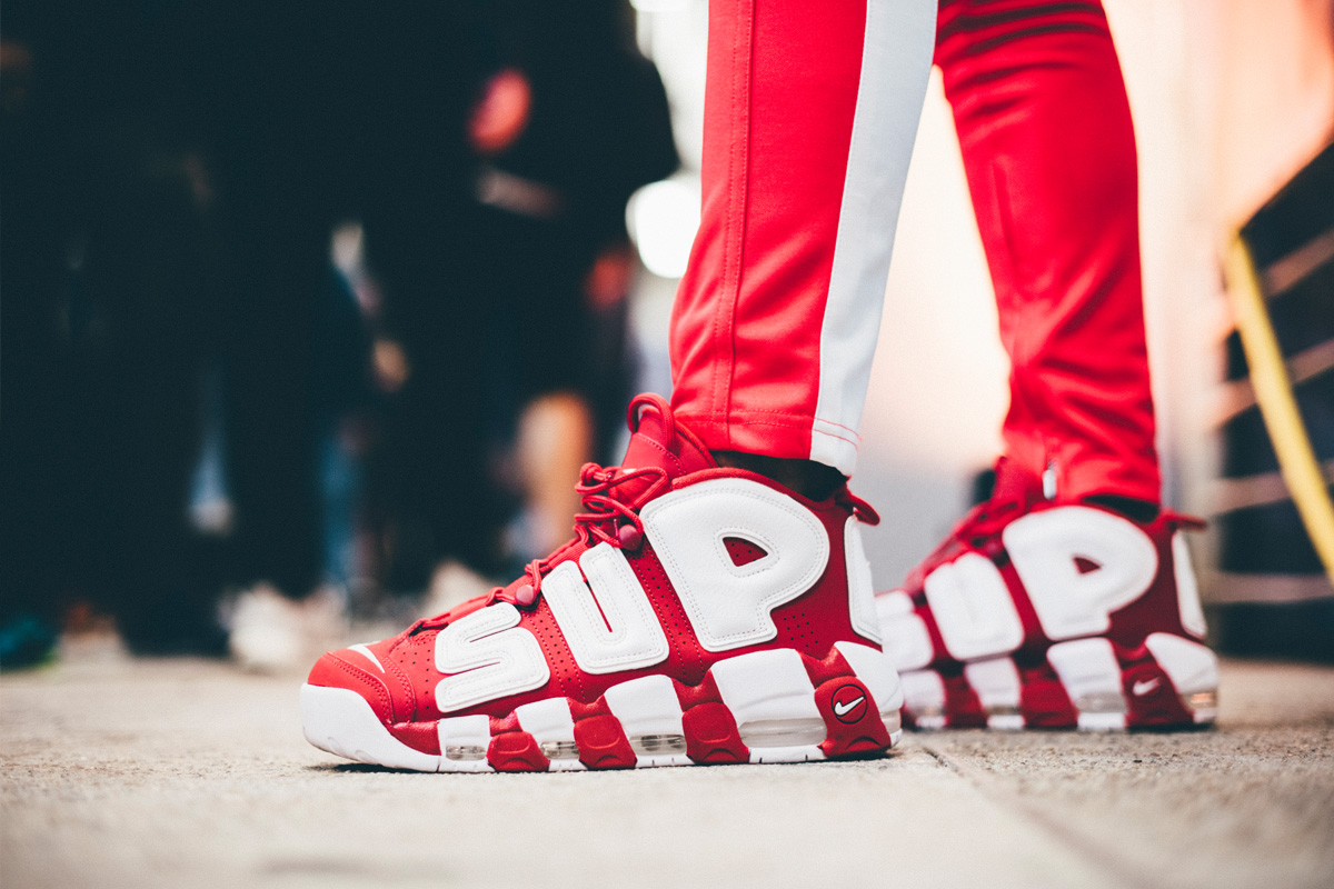 Nike Air More Uptempo GS 货号:CD9402-600