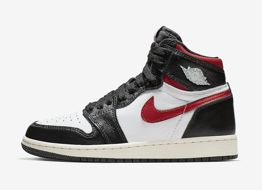 "全新Air Jordan 1 Retro High OG ""Gym Red"" 货号:555088-061"