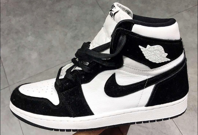 Air Jordan 1 Retro High OG WMNS 熊猫配色 货号:CD0461-007
