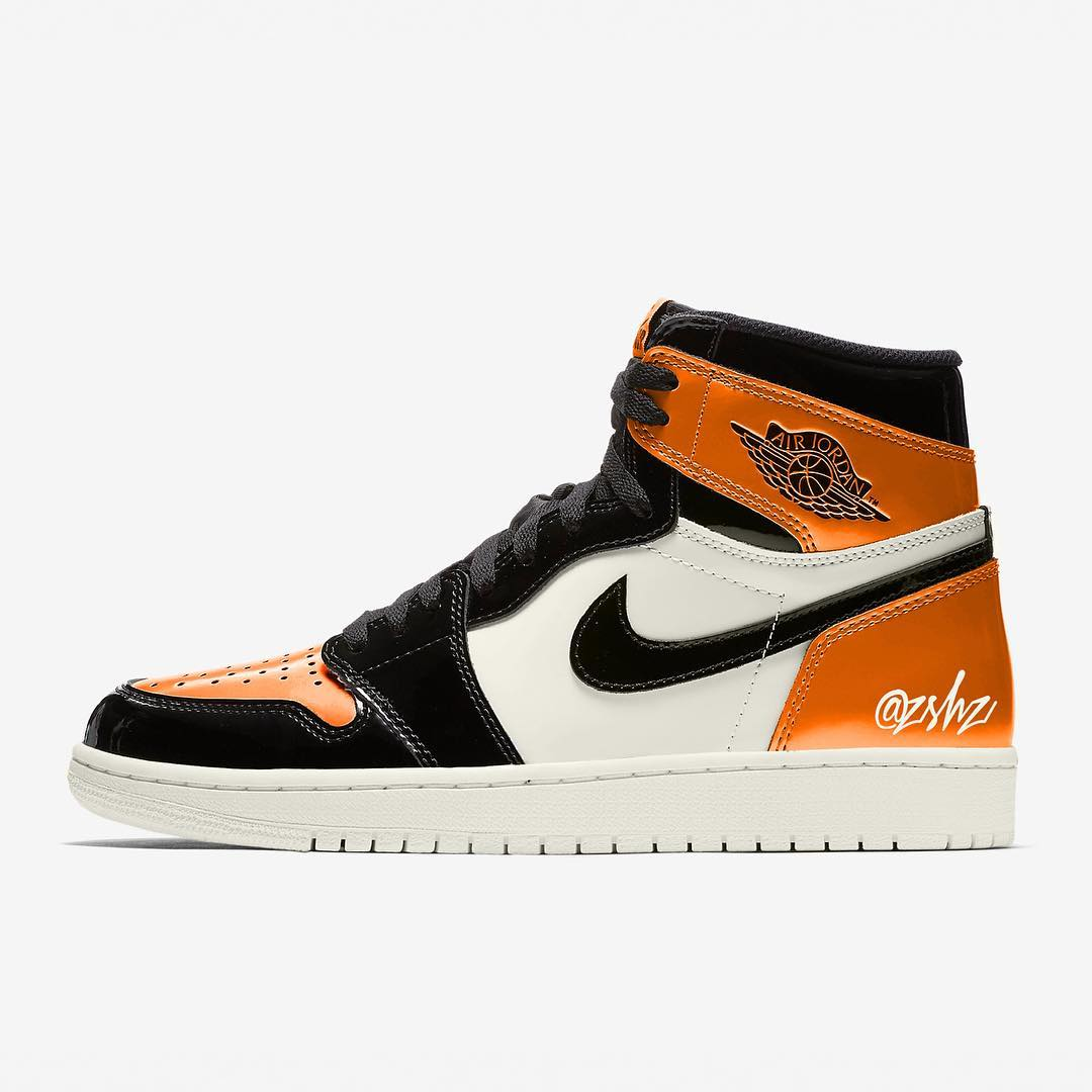 "Air Jordan 1 ""Shattered Backboard"" 3.0 货号:555088-028"