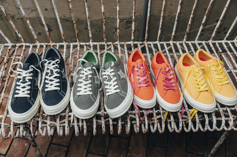 全新做旧配色LABELHOOD x Converse One Star 实图曝光