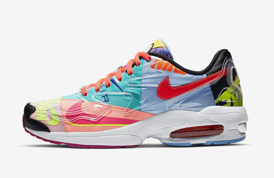 atmos x Nike Air Max2 Light 货号:CJ6200-001 鸳鸯配色!
