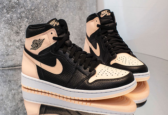 "Air Jordan 1 ""Crimson Tint"" 货号:555088-081"