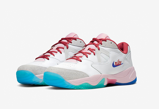 "NikeCourt Court Lite 2""Pink Foam"" 货号:CJ6781-101 实物图欣赏"