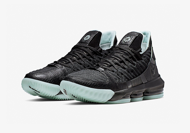 "Nike Lebron 16 ""Glow in the Dark"" 莆田高仿鞋货足"
