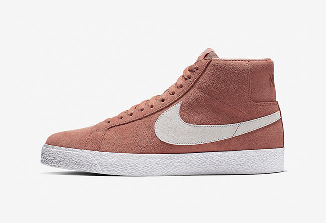 "Nike SB Blazer Mid ""Dusty Peach"" 货号:864349-201"