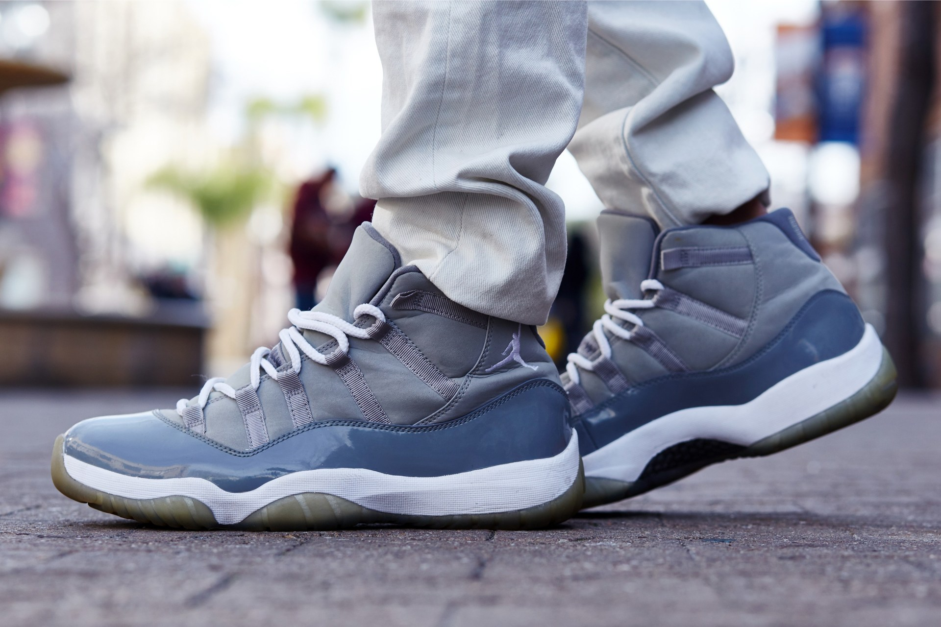"Air Jordan 11 WMNS ""Vast Grey"" 货号:AR0715-100"