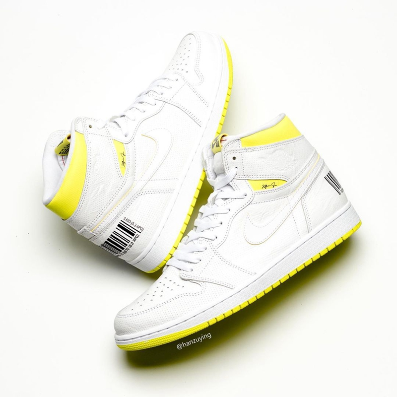 "Air Jordan 1 ""First Class Flight"" 货号:555088-170"