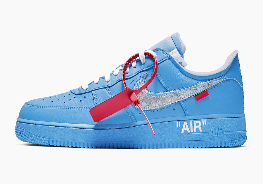"OFF-WHITE x Air Force 1 ""MCA"" 货号:CI1173-400"
