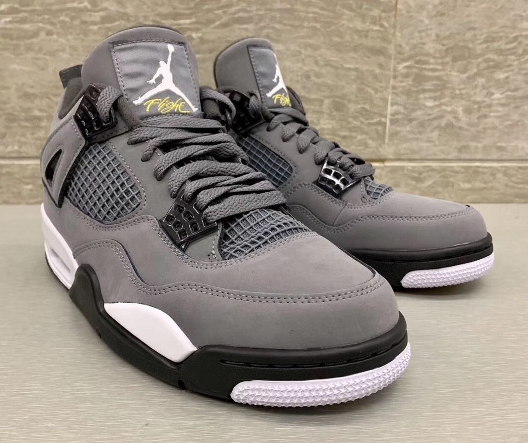 "酷灰 Air Jordan 4 ""Cool Grey"" 货号:308497-007"