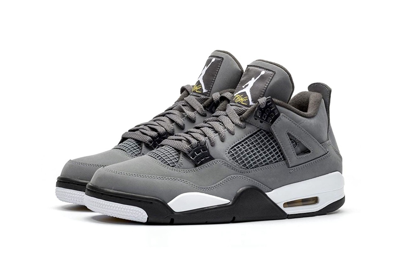 "Air Jordan 4""Cool Grey"" 酷灰配色 货号:308497-007"