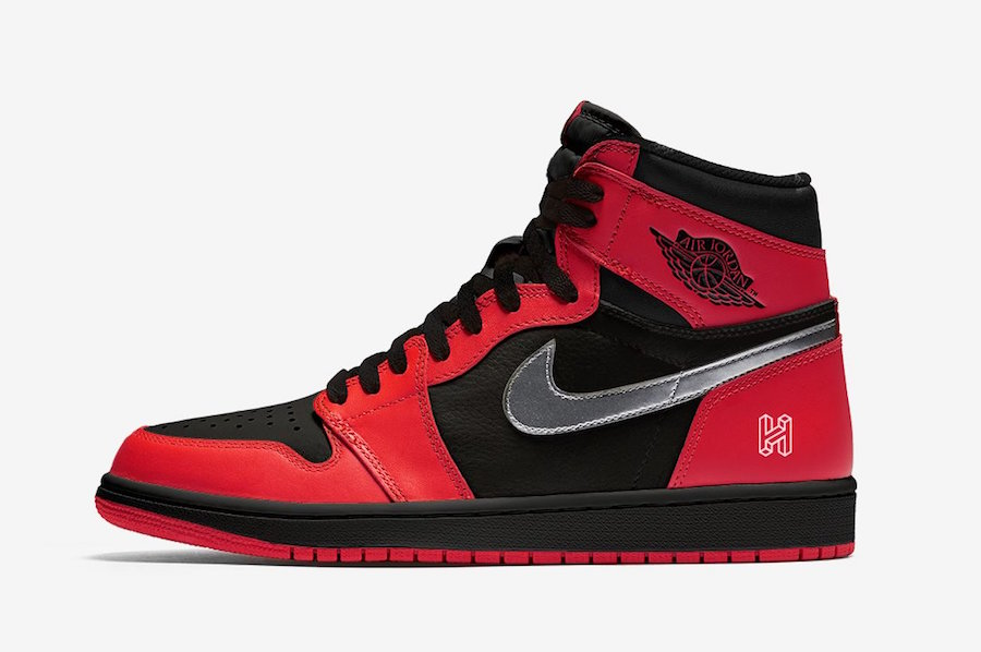 Air Jordan 1 Retro High OG 反转黑红 货号:575088-060