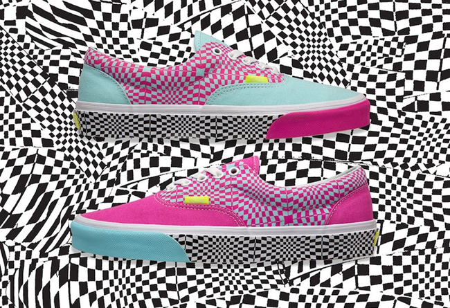 "size? x Vans Era ""Warped Check""鸳鸯配色,即将发售!"