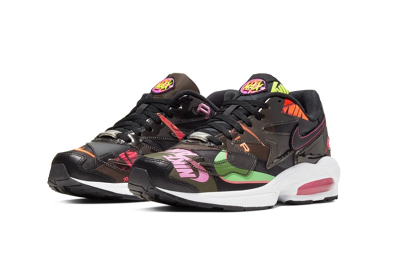 "Atmos × Nike Air Max 2 Light QS ""Black"" 货号:BV7406-001"