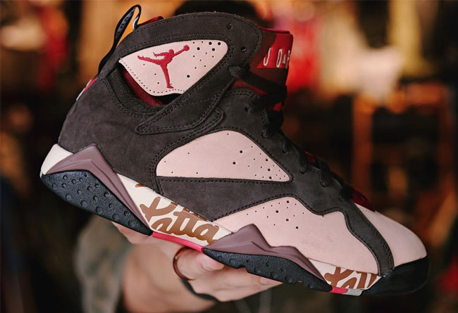 Patta x Air Jordan 7 OG SP 货号:AT3375-200