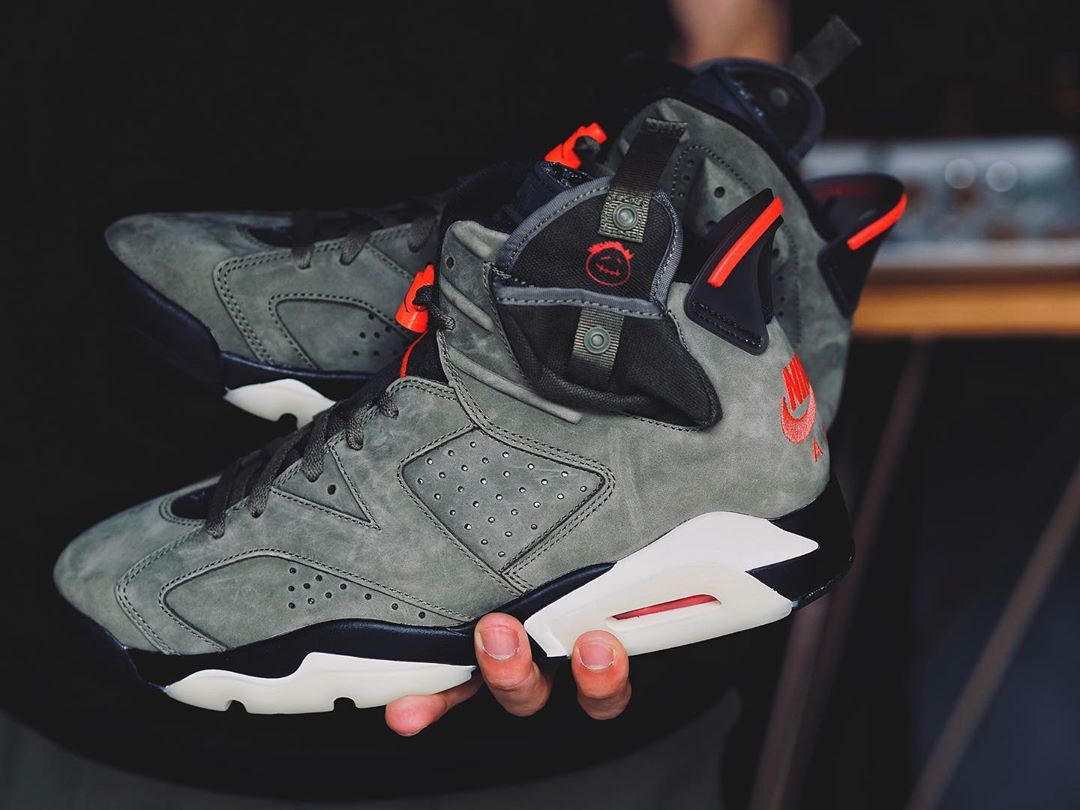 Travis Scott x Air Jordan 6 货号:CN1084-200