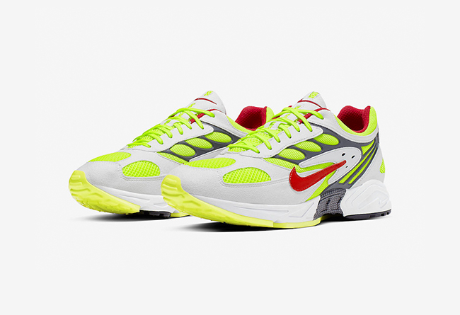 "Air Ghost Racer ""Neon Yellow""  货号 AT5410-100"