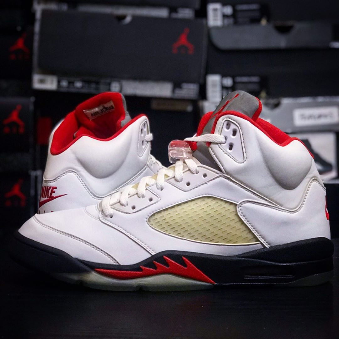 "Air Jordan 5 ""Fire Red"" 货号:CT4838-102"